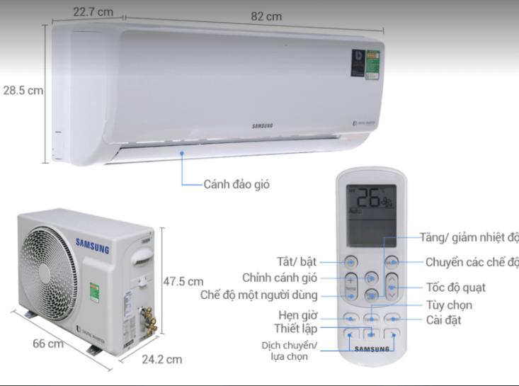Đánh giá dòng sản phẩm Máy lạnh SamSung mới nhất