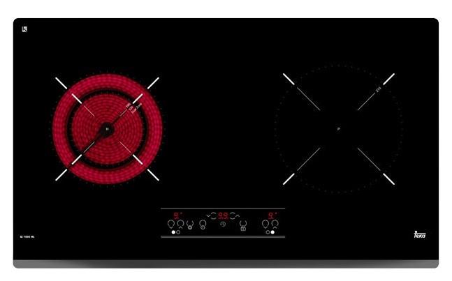 Bạn có thể nướng trực tiếp trên vùng hồng ngoại của bếp TEKA IZ 7200 HL