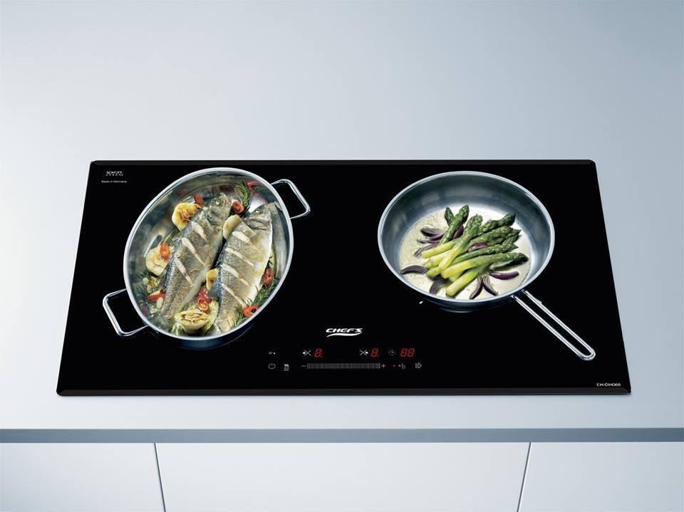 Bếp từ Chefs EH-DIH366 giúp tăng tốc độ nấu nướng