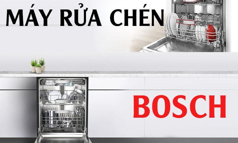 Bosch thương hiệu hàng đầu về máy rửa bát