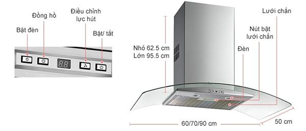 Địa chỉ sửa máy hút mùi Teka NC 780 chính hãng