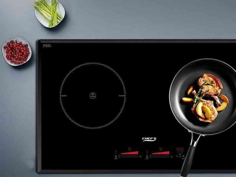 Bếp từ đôi Chefs EH-DIH888 được đánh giá cao