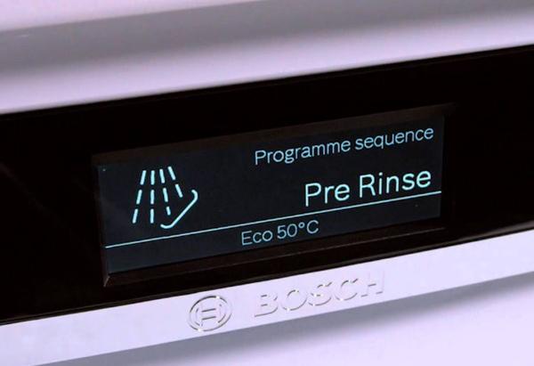Các chương trình rửa chính của máy rửa bát Bosch