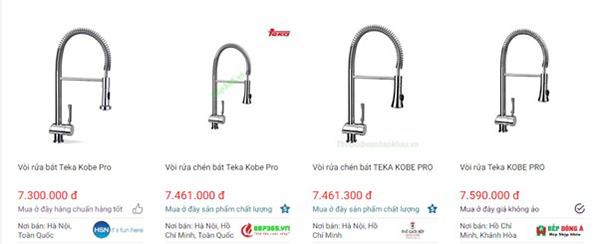 Vòi rửa chén bát Teka Kobe Pro