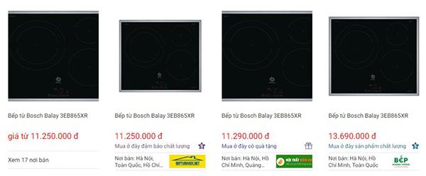 Bếp Từ Bosch Balay 3EB865XR