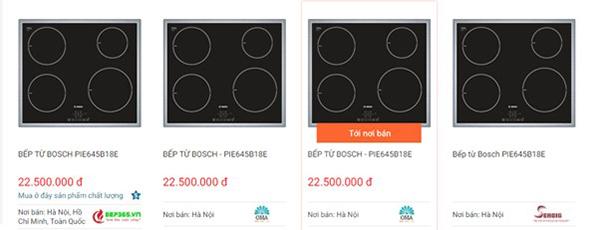 Bếp từ Bosch PIE645B18E