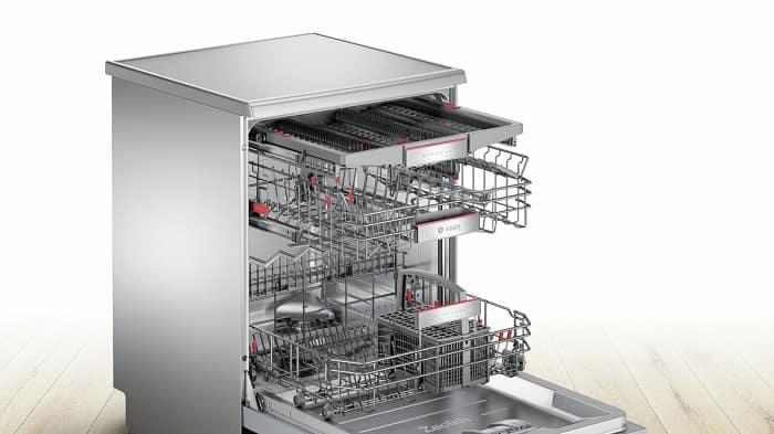 Hệ thống VarioFlex Pro 3 giàn của máy rửa bát Bosch SMS88TI40M