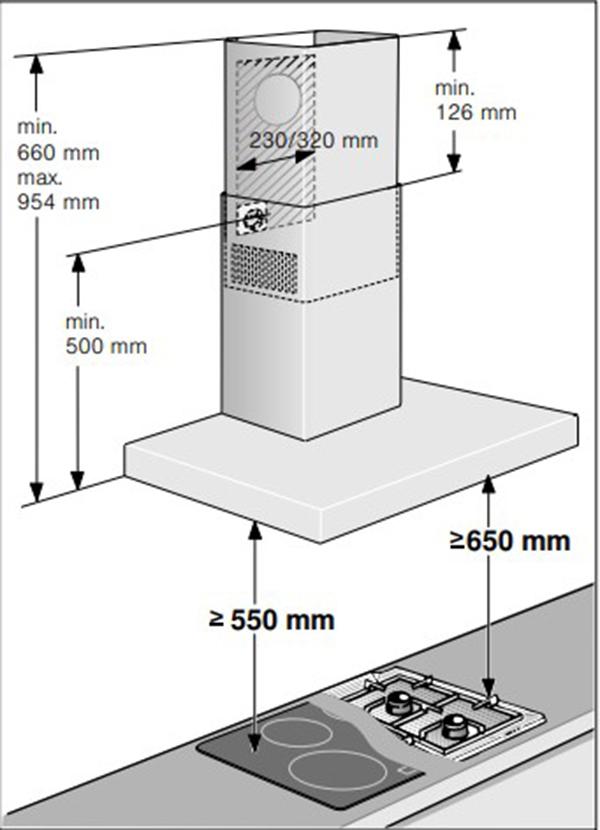 Hướng dẫn sử dụng máy hút mùi Bosch DWB77CM50
