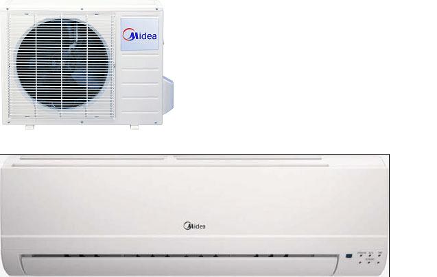 Máy lạnh midea giá cả phải chăng, chất lượng cao