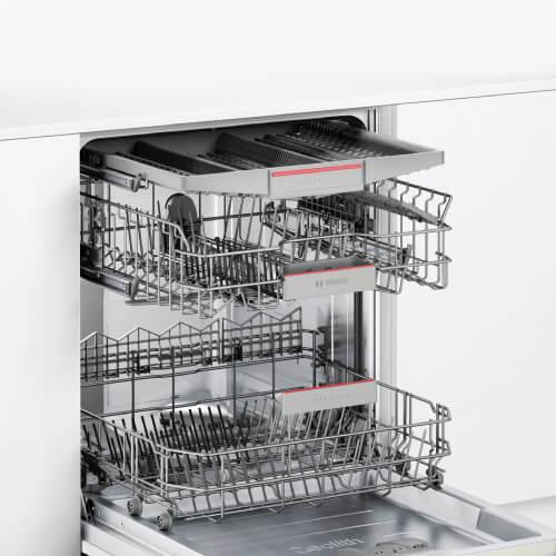 Thiết kế bên trong của máy rửa bát