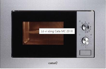 Lò vi sóng âm tủ Cata MC 20IX