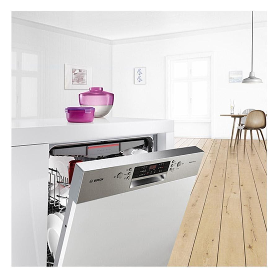 Máy rửa bát bán âm Bosch serie 4 và serie 6