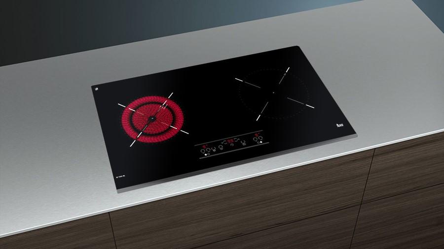 TEKA IZ 7200 HL kết hợp vùng nấu từ và vùng nấu hồng ngoại