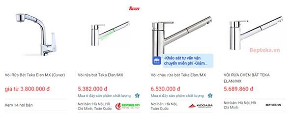 Vòi rửa chén bát Teka  Elan/MX