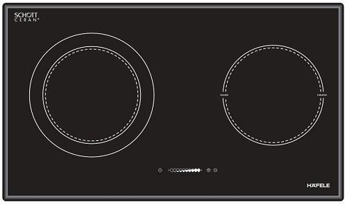 Vùng nấu bếp từ Hafele HC-M772B 536.01.815 có ký hiệu tối giản
