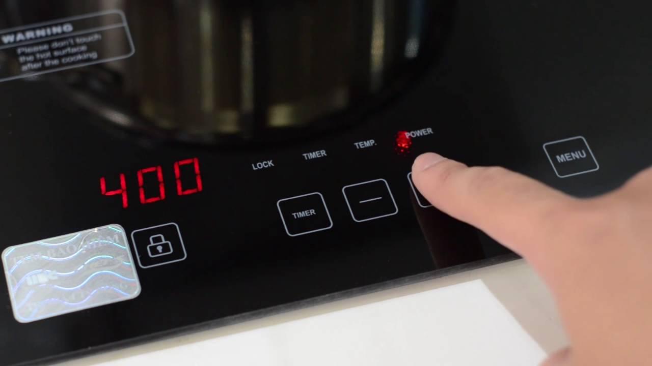 Đánh giá chi tiết về sản phẩm bếp từ Chefs EH-DIH2000A Bep-tu-chefs-EH-DIH2000A-2