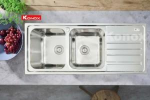 Chậu rửa chén bát Konox Artusi KS11650 1D