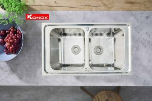Chậu rửa chén bát Konox Premium KS8650 2B