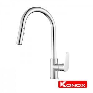Vòi rửa bát rút dây Konox KN1900