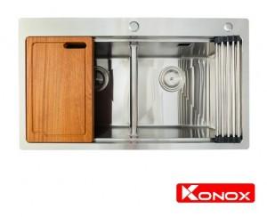Chậu rửa chén bát Konox Topmount Series KN8850TD