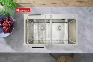 Chậu rửa chén bát Konox Overmount Series KN8248DOB