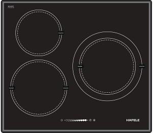 Bếp từ Hafele HC-I603B 536.01.601