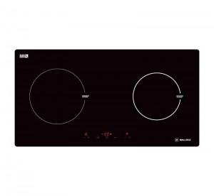 Bếp từ Malloca MH-02I TB kính âm 2 vùng nấu