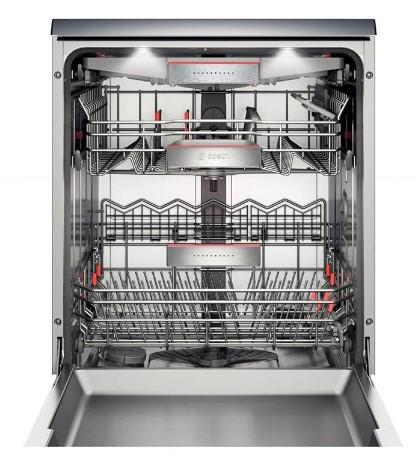 Hình ảnh bên trong máy rửa bát được cấu tạo như nào