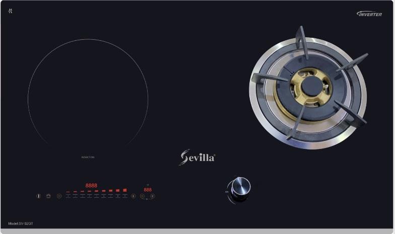 Bếp gas kết hợp từ Sevilla SV-02GT