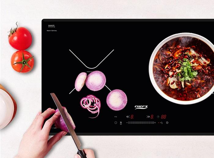 Bếp từChefs EH-DIH366 còn đượcthiết kế kỹ thuật tinh tế vàsang trọng