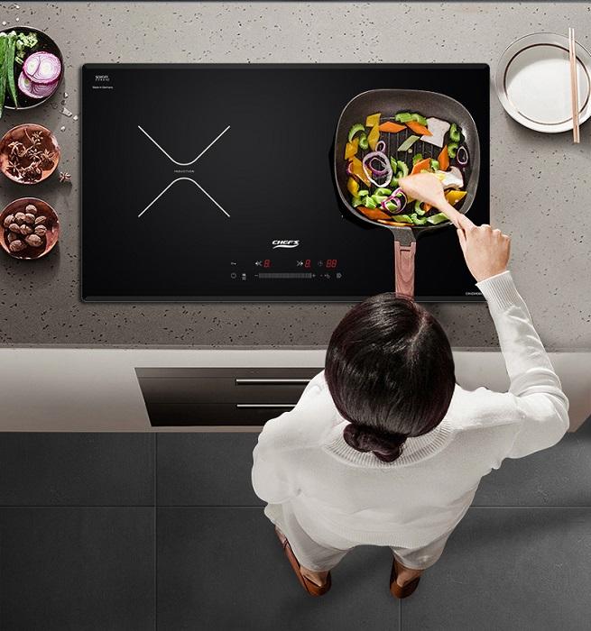 Bếp từ Chefs EH-DIH366 được tích hợp nhiều tính năng thông minh.