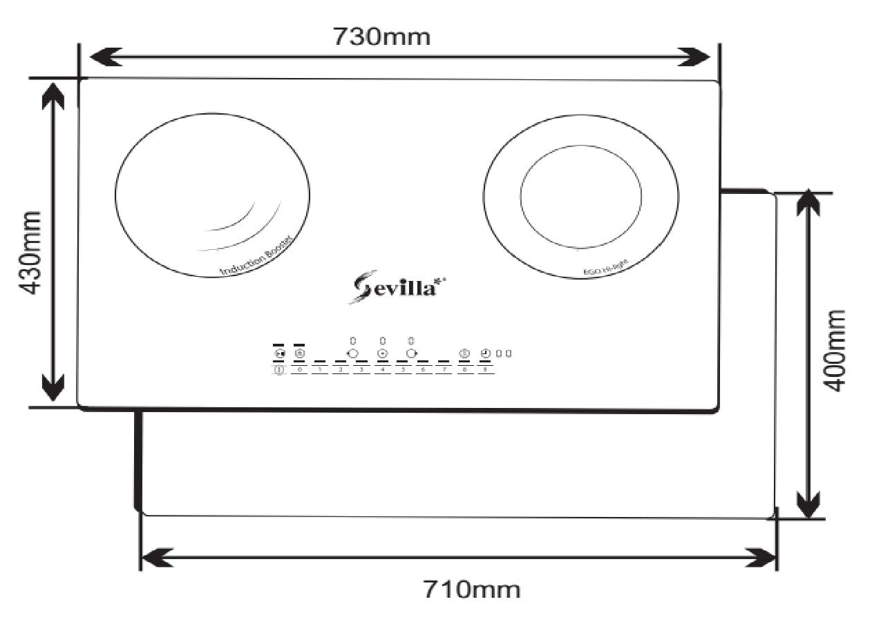 Bếp từ SEVILLA SV-93II0