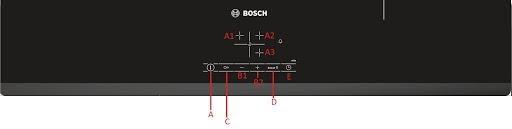 Tính năng của bếp từ Bosch PUJ631BB2E