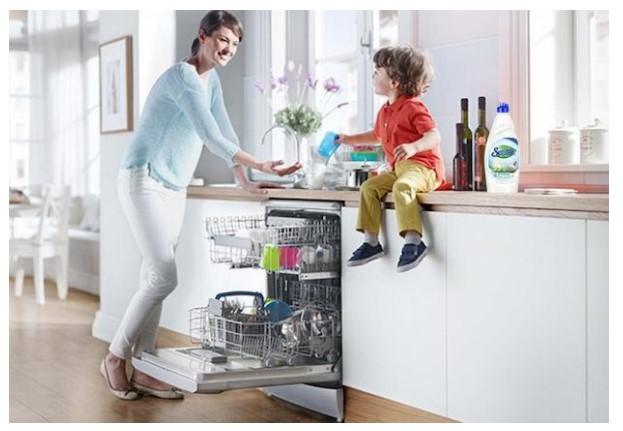 Máy rửa bát có quy trình vận hành tiên tiến, hiện đại