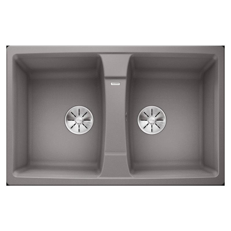 Chậu rửa bát Bosch Blanco LEXA 8 Alu Metallic 524962