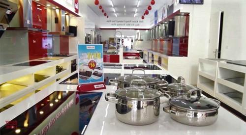 Cửa hàng bếp từ ở Cao Bằng