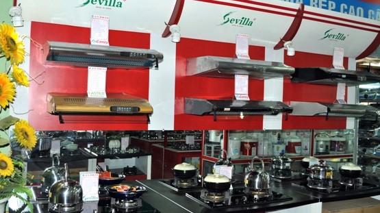 Cửa hàng bếp từ ở Điện Biên