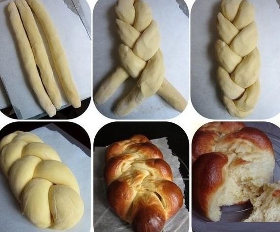 Cách làm bánh mì hoa cúc bằng lò nướng