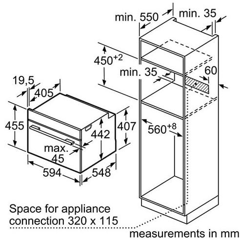 Lò nướng Bosch CDG634BS1