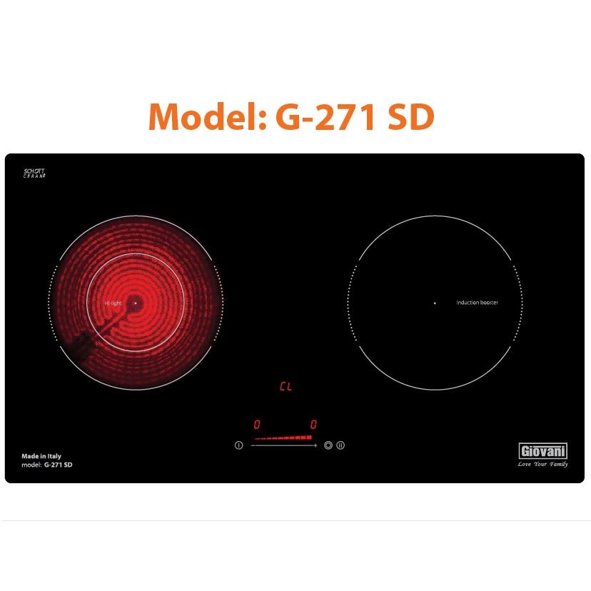 Bếp Điện Từ Giovani G - 271SD