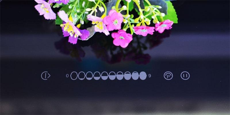 Bảng điều khiển bếp từ cảm ứng, dễ sử dụng