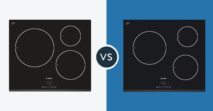 So sánh bếp từ Bosch PIL631B18E và Bosch PIM631B18E