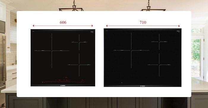 Điểm khác nhau giữa bếp từ Bosch PID675DC1E và PID775DC1E