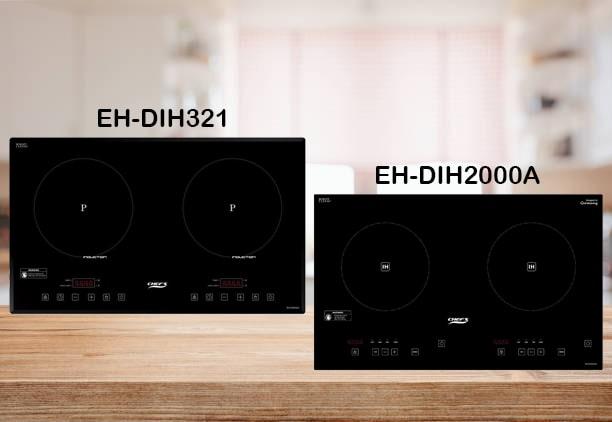 So sánh bếp từ đôi Chefs EH-DIH321 và Chefs EH-DIH2000A