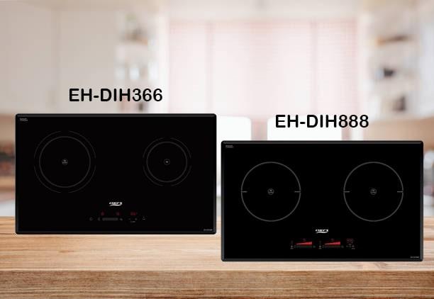 So sánh bếp từ Chefs EH-DIH888 và EH-DIH366
