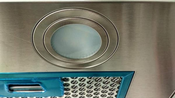 Ảnh đèn chiếu sáng của máy hút mùi Bosch DHL755BL