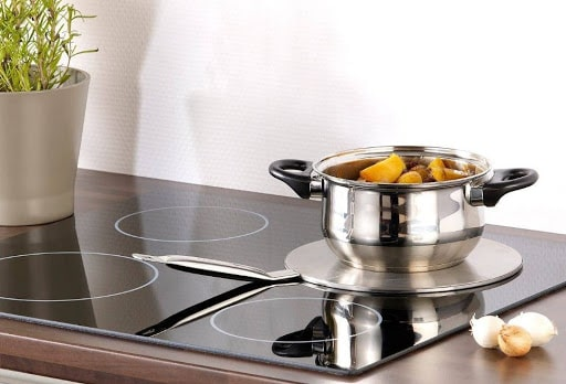 Ảnh đĩa từ chuyển nhiệt dành cho bếp từ