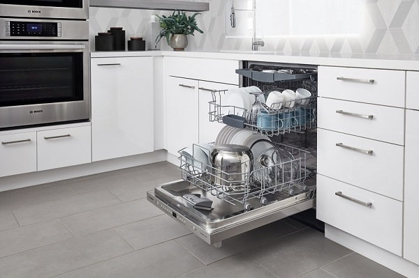 Nhiều tính năng của máy rửa bát vô cùng hiện đại