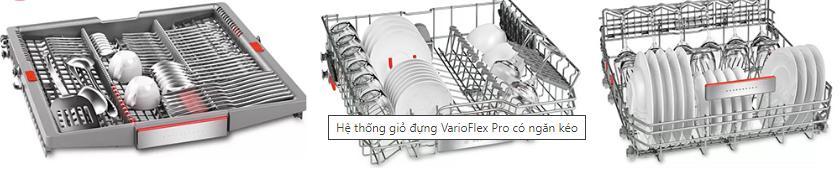 Hệ thống giỏ đựng VarioFlex có ngăn kéo