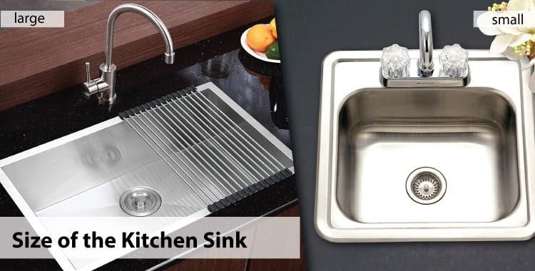 Phải lựa chọn kích thước chậu rửa phù hợp với căn bếp của bạn